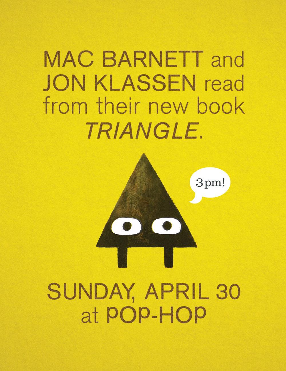 TRIANGLE ~ MAC BARNETT & JON KLASSEN - 04/30/17 @ 3pm