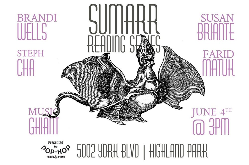 SUMARR: READING SERIES - 06/04/2017