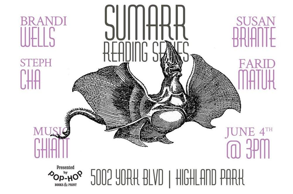 SUMARR ~ READING SERIES - 06/04/2017