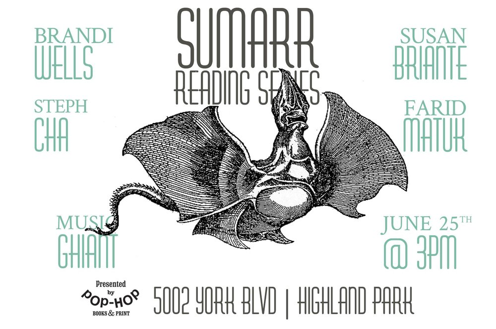 SUMARR: READING SERIES - 06/25/2017