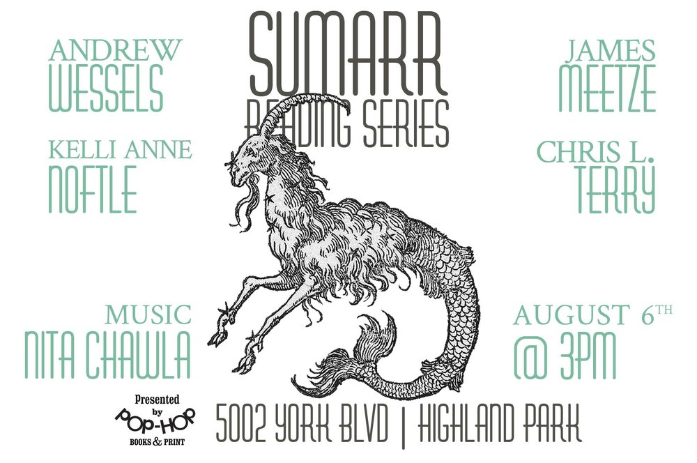 SUMARR: READING SERIES - 08/06/2017