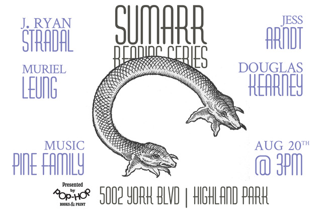 SUMARR: READING SERIES - 08/20/2017