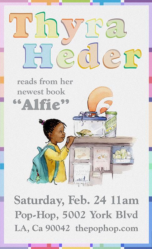THYRA HEDER reads ALFIE - 02/24/2018