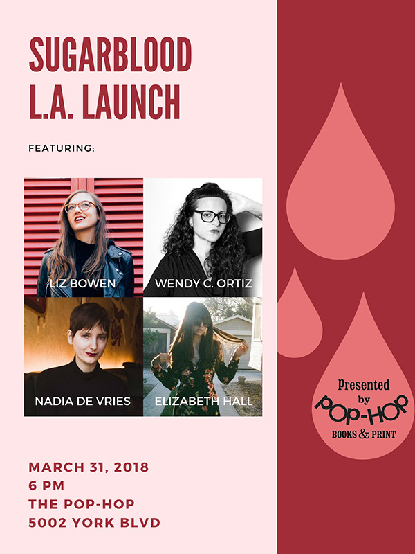 SUGARBLOOD: L.A. LAUNCH - 03/31/2018