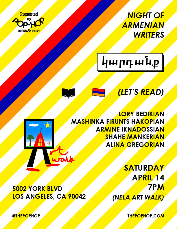 NIGHT OF ARMENIAN WRITERS - 04/14/2018