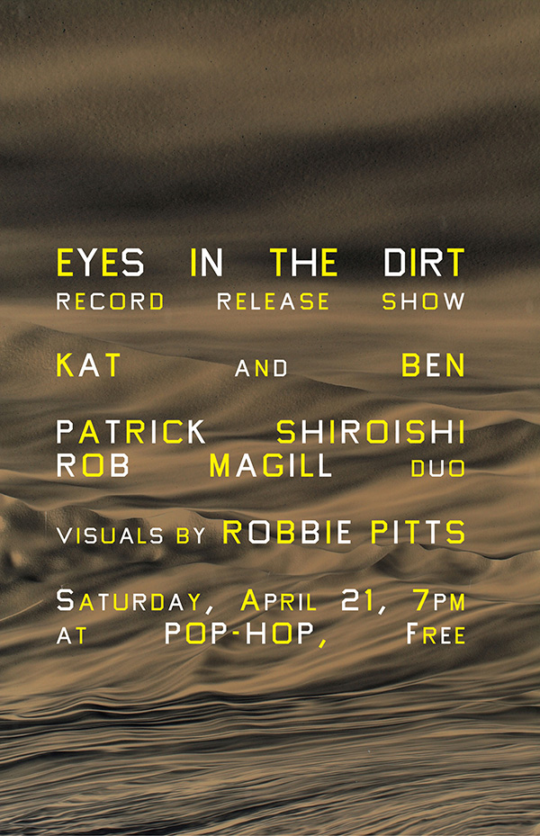 EYES IN THE DIRT: RECORD RELEASE SHOW - 04/21/2018
