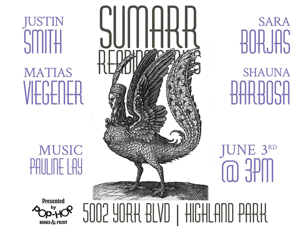 SUMARR I ~ READING SERIES ~ 06/03/2018