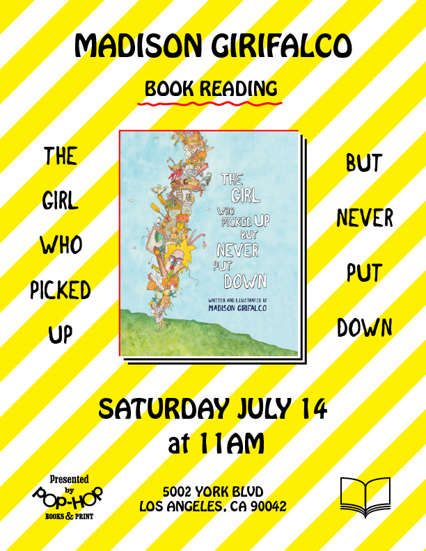 MADISON GIRIFALCO reads THE GIRL WHO PICKED UP BUT NEVER PUT DOWN - 07/14/2018