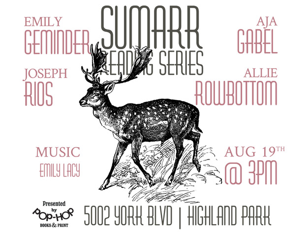 SUMARR III - READING SERIES - 08/19/18