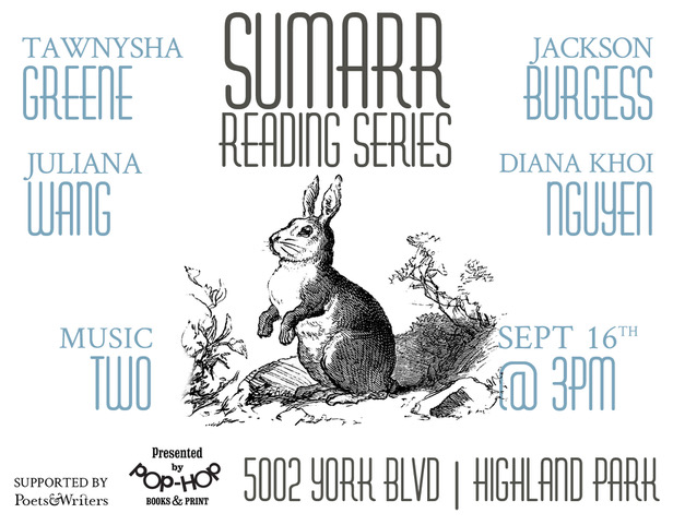 SUMARR V - READING SERIES - 09/16/18