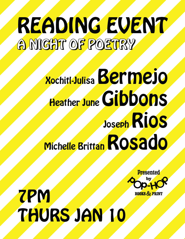 A NIGHT OF POETRY - 01/10/19