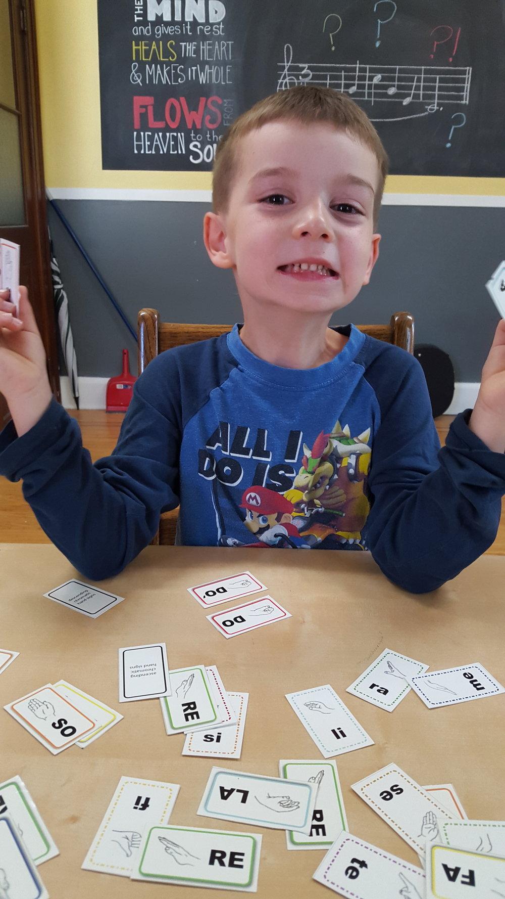 mini flashcards