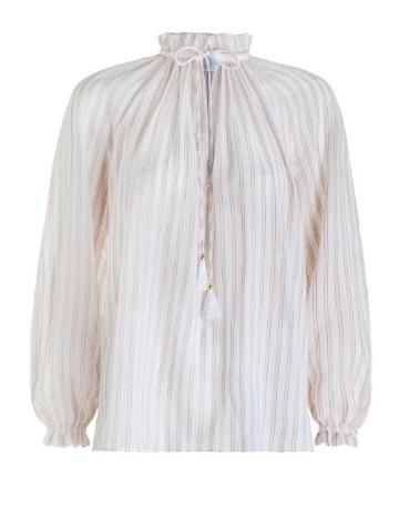 Harlequin boho blouse - Zimmerman