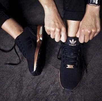 Metallic trim Adidas - see @adidasoriginals