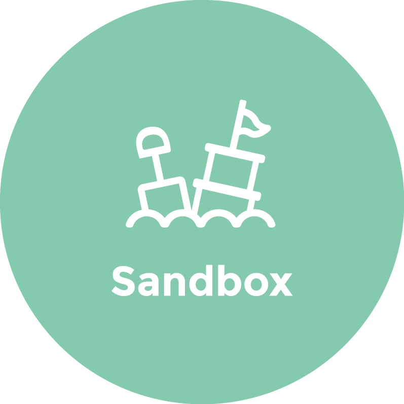 Sandbox Logo - Green