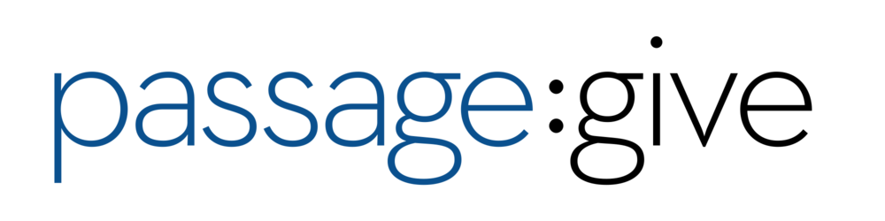 Passage Give Logo: Transparent