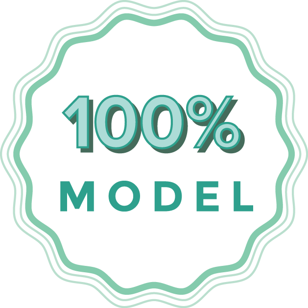 100% MODEL Private donors fund 100% of our operation costs so that all of your donations go straight to the organizations that support children's mental health.