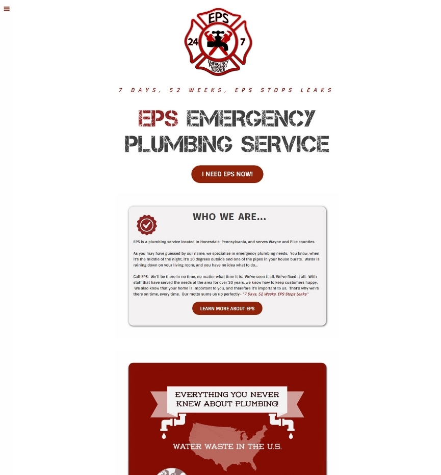 EPS Emergency Plumbing Service
