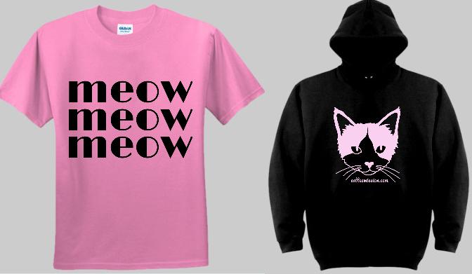 cat tee mission _top_hoodie