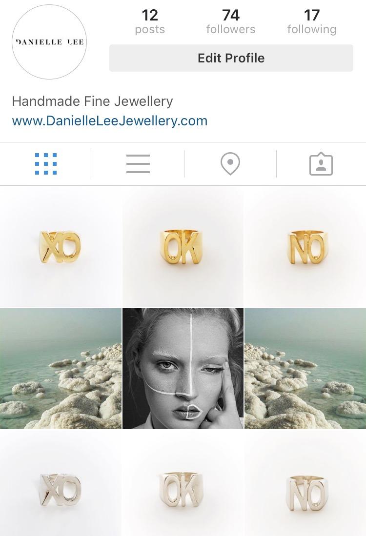danielle lee jewellery instagram