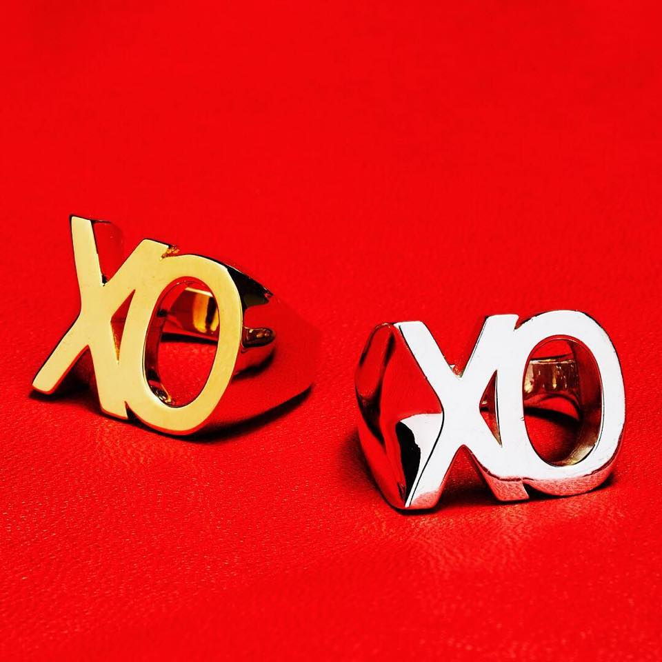 Danielle Lee Jewellery XO Rings in Sterling Silver and 14K Gold in FASHION Magazine Galentine's Day Gift Guide