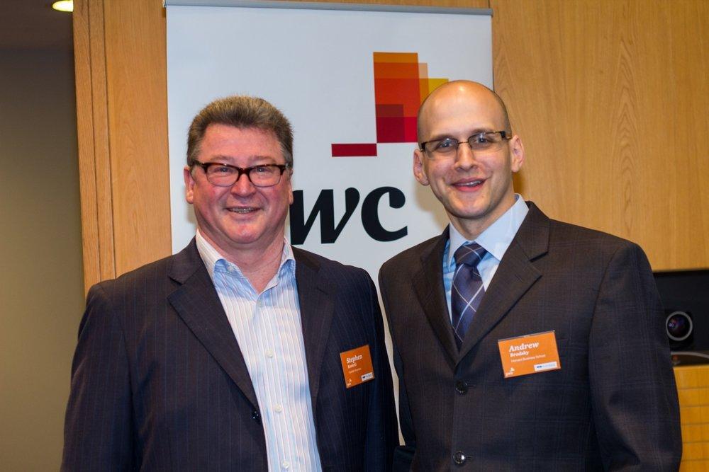 Stephen kozicki, gordian business & andrew brodsky, harvard business school