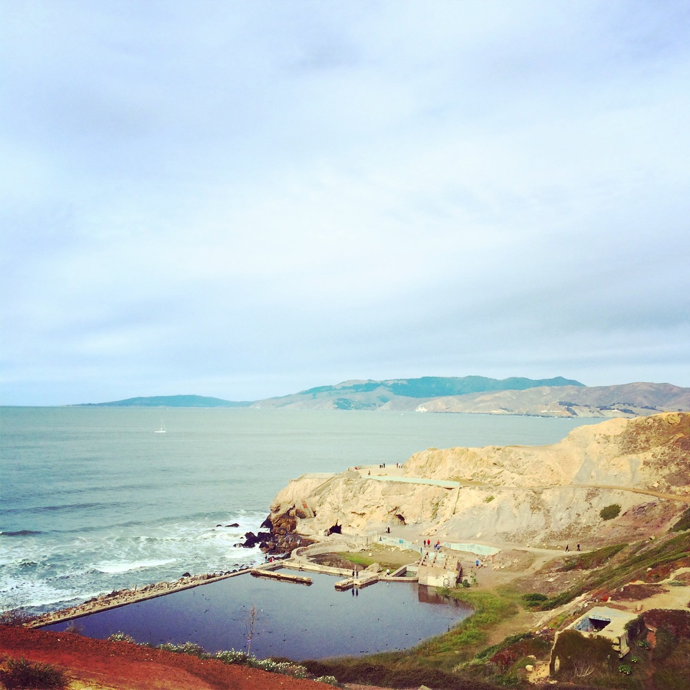 Sutro baths, Lands End