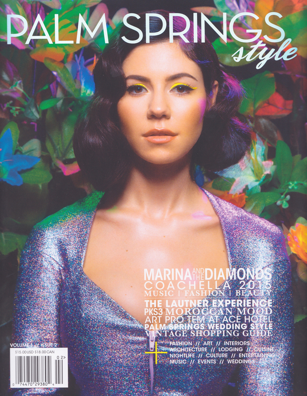 Palm Springs Style Volume 1 Issue 2 April 2015