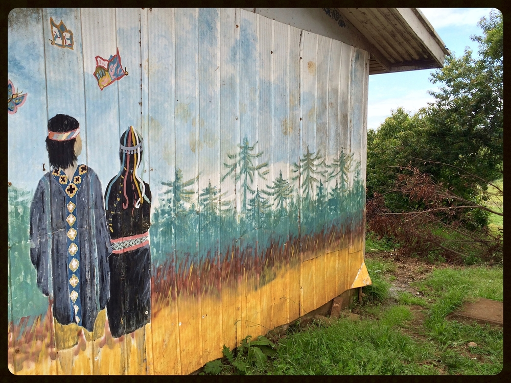 A Mapuche Mural
