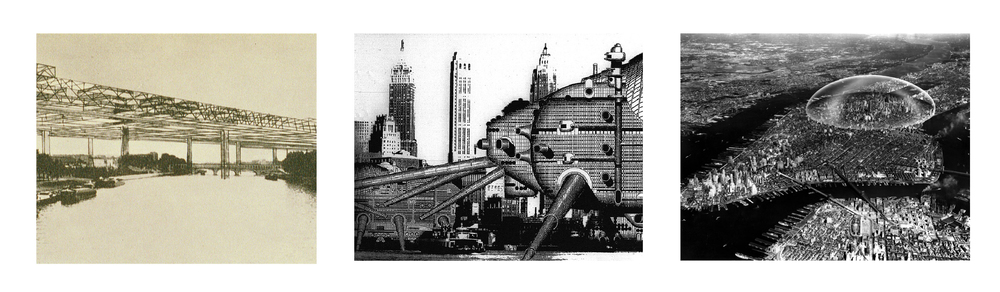 Friedman, Archigram, & Fuller's Work as Precedence