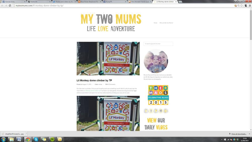 My Two Mums blog post