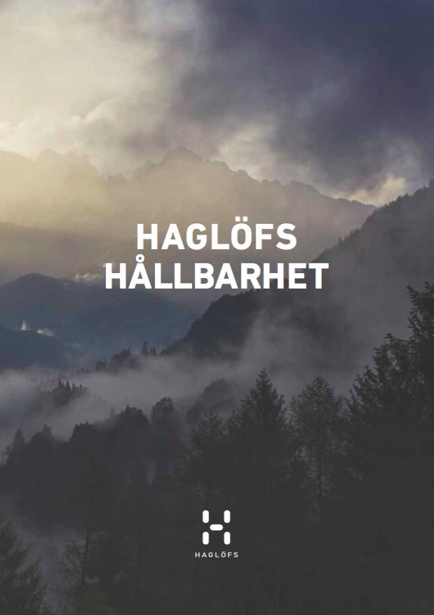 Haglöfs hållbarhetsrapport 2015