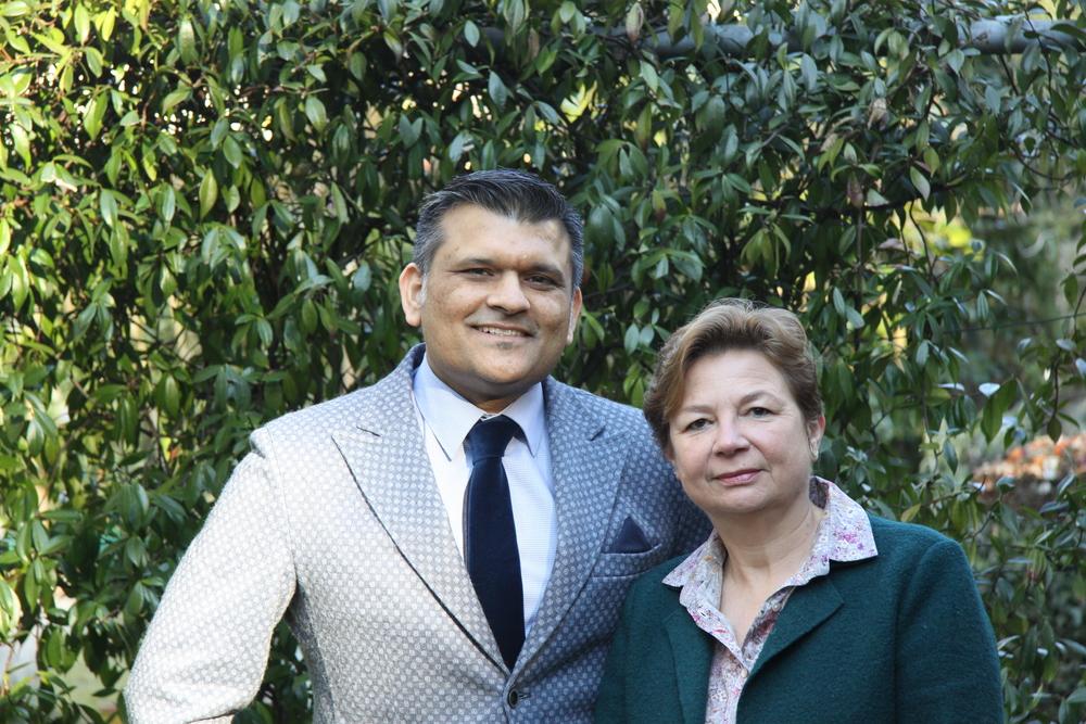 Usman Baig e Annie Schirmeister