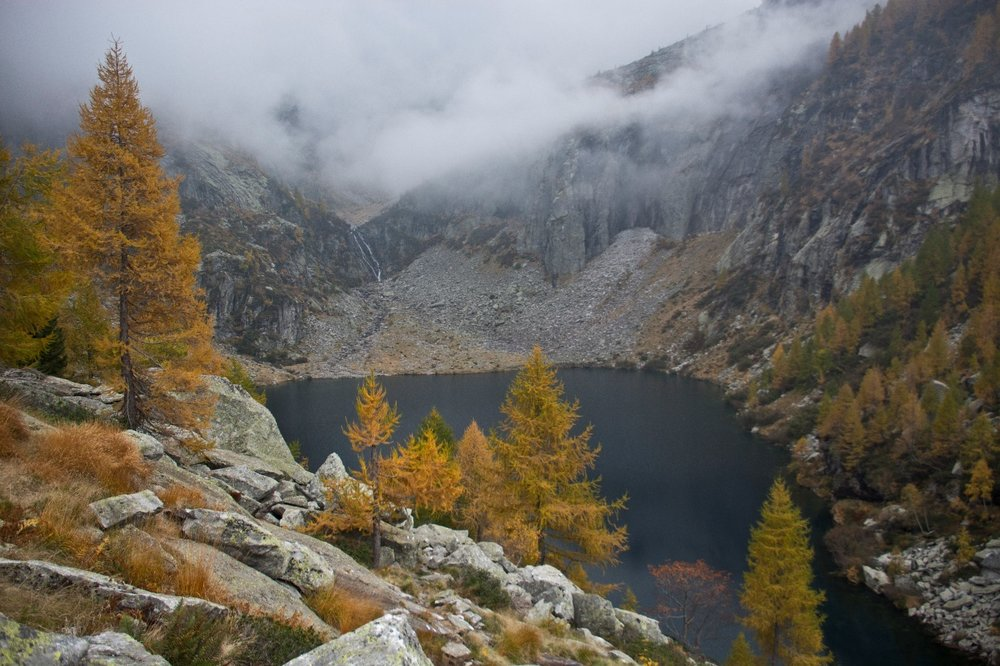 Foto 1. Lago di Tomè. © Raphael Weber / Pro Natura
