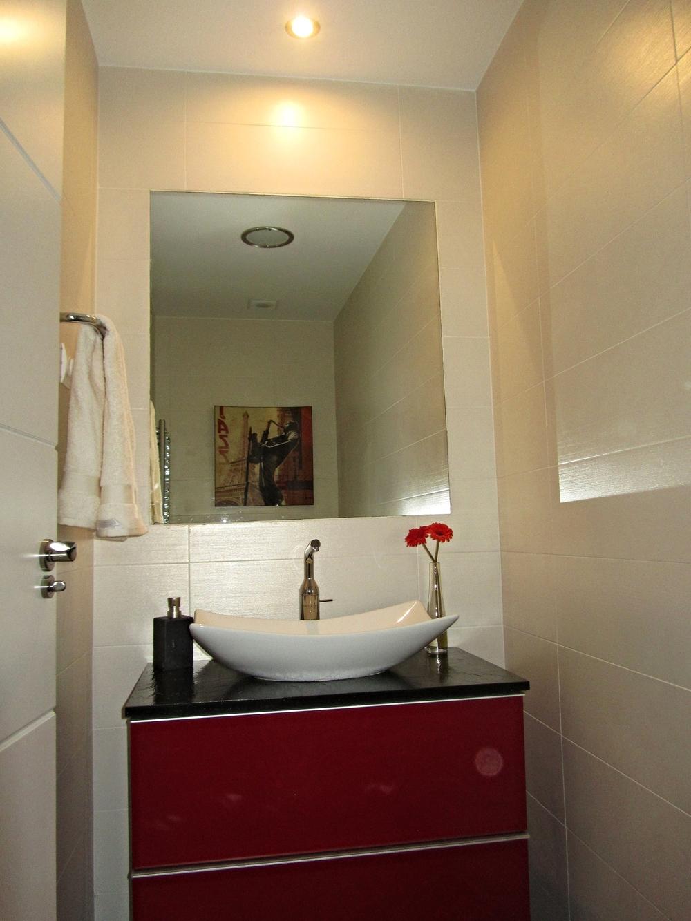Toilette de visitas