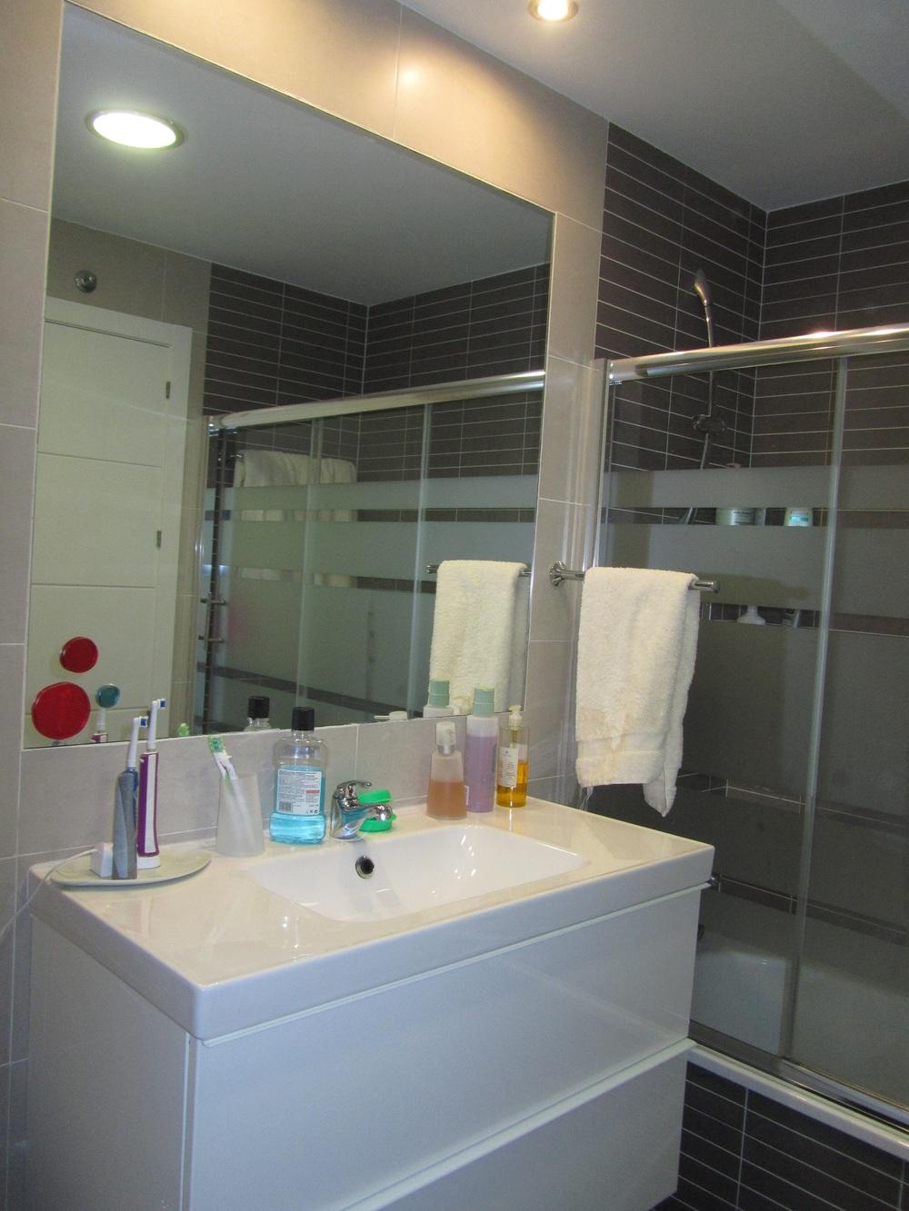 Baño principal en suite