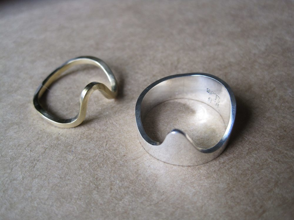 Wave Rings Separated