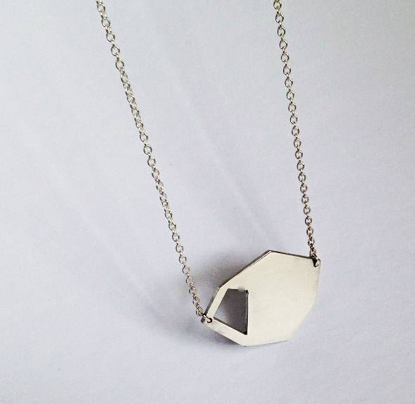 Small Geometric Pendant