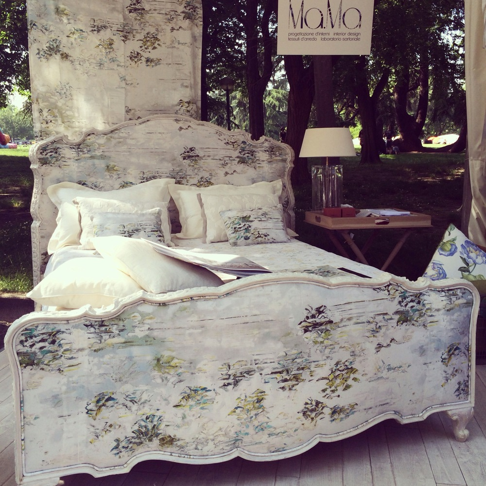 "Our ""Jessica Zoob"" Bedroom at Giardini & Terrazzi fair in Bologna"