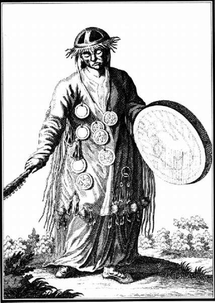 Woman shaman in 18th century Mongolia