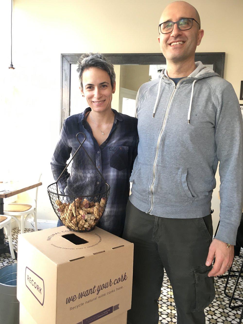 Rosemary & Vine Owners Berj Yeretzian and Tania Rahal
