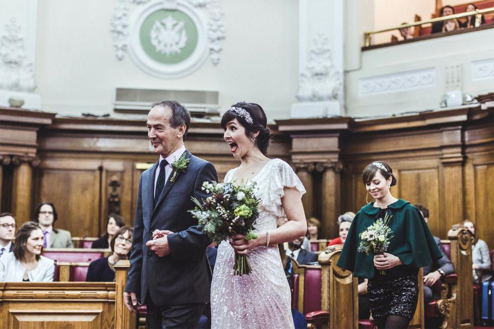Islington Town Hall | Weddings by Charlotte Hu