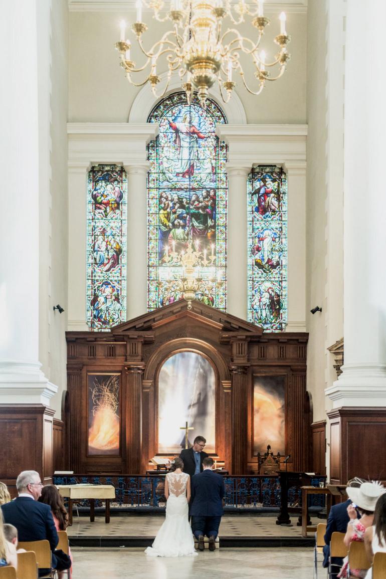 Christ Church Spitalfields | Weddings by Charlotte Hu