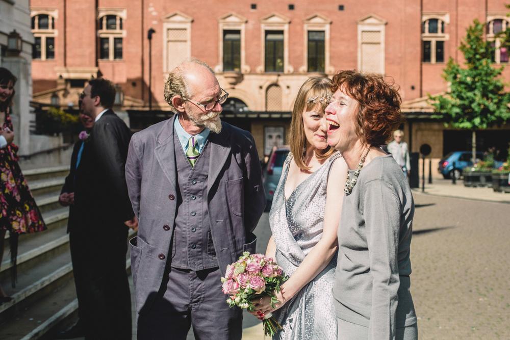 Wedding at Hackney Town Hall & The Tab | Charlotte Hu
