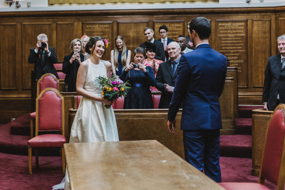 Wedding at Balham Bowls Club | Charlotte Hu Photography