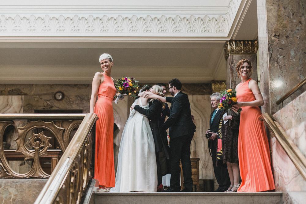 Wedding at Balham Bowls Club   Charlotte Hu Photography
