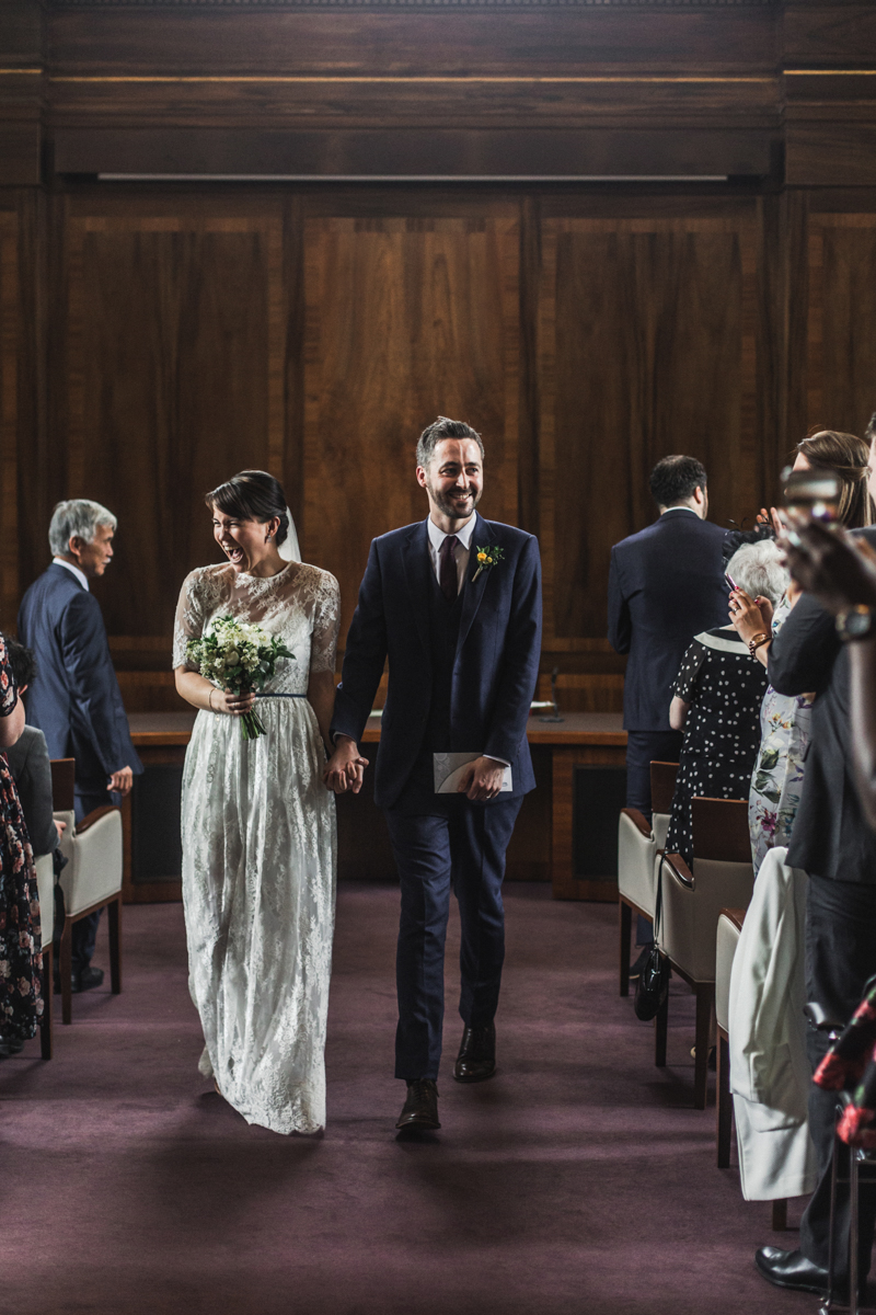 Wedding at Stoke Newington Town Hall & The Londesborough | Charlotte Hu Photography