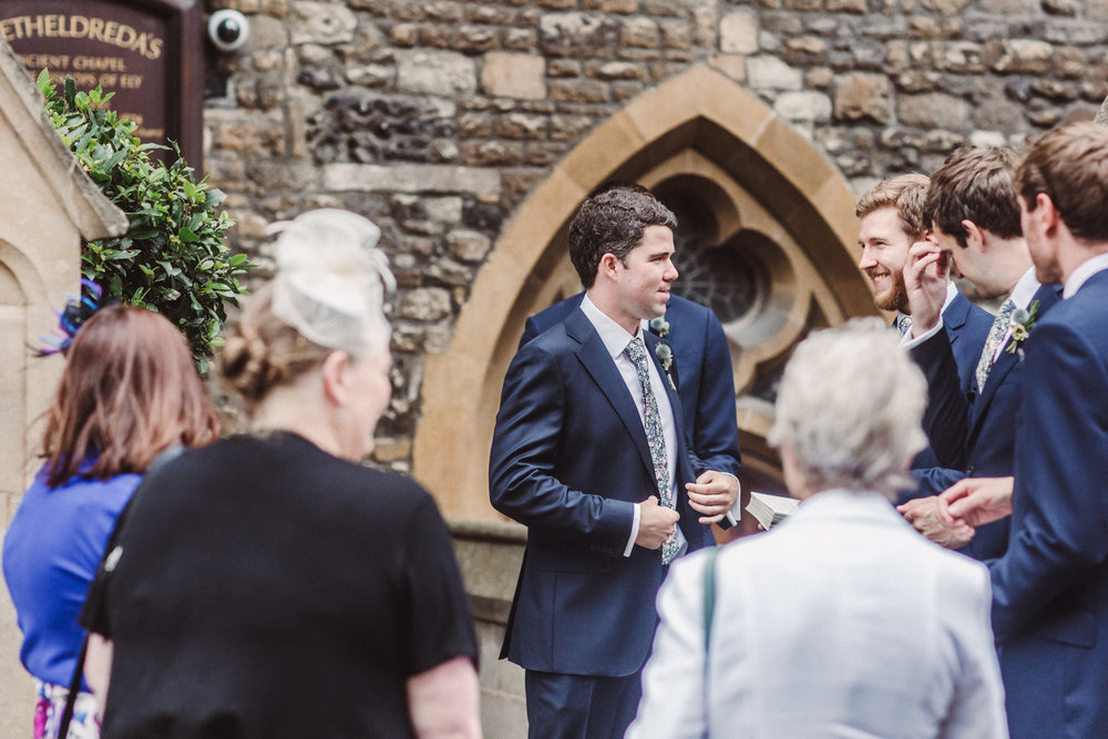 Wedding At St Etheldreda's Church & St John Restaurant | Charlotte Hu Photography