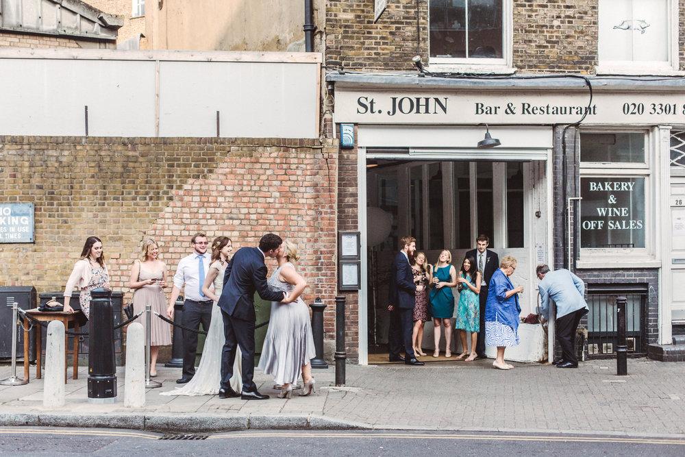 Wedding At St Etheldreda's Church & St John Restaurant | Charlotte Hu Photography