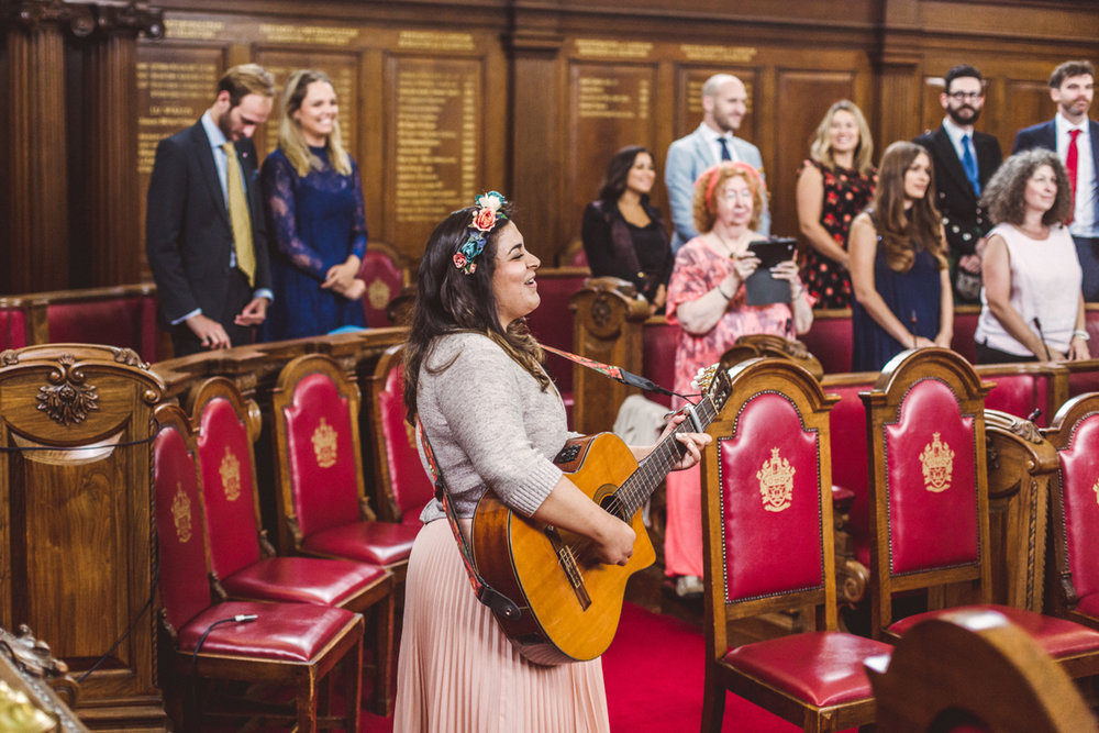 Wedding at Islington Town Hall & The Amadeus | Charlotte Hu Photography